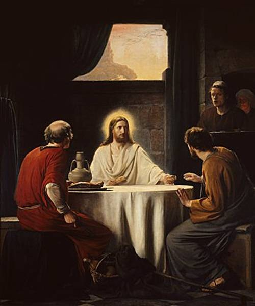 Carl Heinrich Bloch Christ Emaus
